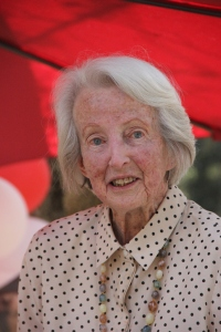 Catherine Hamlin on her 90th birthday.